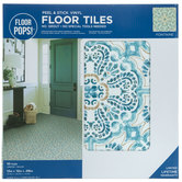 Fontaine Peel & Stick Vinyl Floor Tiles