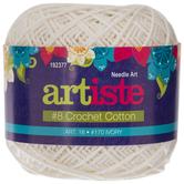Ivory Artiste Crochet Cotton Thread