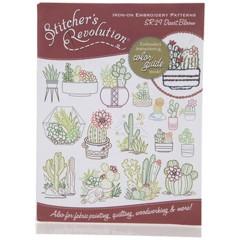 Desert Bloom Iron-On Embroidery Patterns