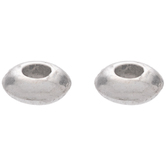 Round Smooth Spacer Beads - 5mm