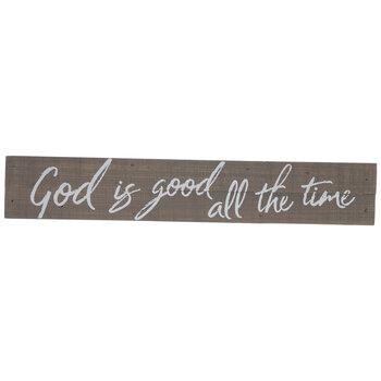 God Is Good Wood Decor