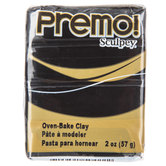 Black Premo! Sculpey Clay