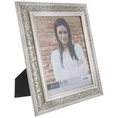 Silver Ornate Scroll Frame