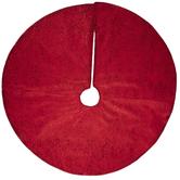 Red Glitter & Sequins Tree Skirt