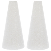 "CraftFoM Foam Cones - 2 3/4"" x 6"""