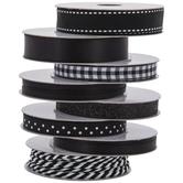 Black & White Ribbon