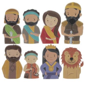 Bible Stories Finger Puppets