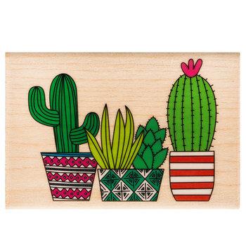 Cactus Rubber Stamp