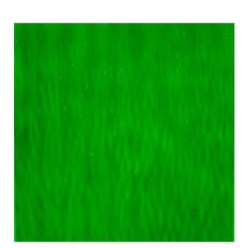 "Medium Green Waterglass Stained Glass Sheet - 11"" x 12"""