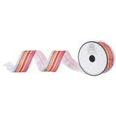"Patterned & Striped Grosgrain Ribbon - 1 1/2"""