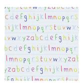 "Lowercase Alphabet Scrapbook Paper - 12"" x 12"""