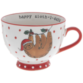 Christmas Sloth Mug