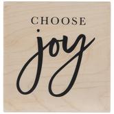 Choose Joy Rubber Stamp