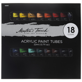 Acrylic Paint - 18 Piece Set