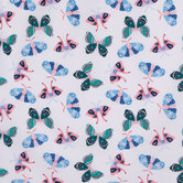 Butterflies & Moths Apparel Fabric