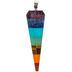 Multi-Color Faceted Pendulum Stone Pendant