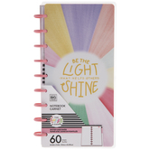 Be The Light Happy Notes Half-Sheet Notebook