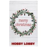 Holly Wreath Gift Card