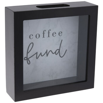 Coffee Fund Coin Bank