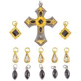 Cross Pendants & Charms