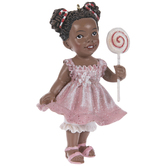 Lollipop Girl Ornament