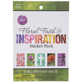Floral Faith & Inspiration Stickers