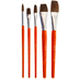 Camel Paint Brushes - 5 Piece Set
