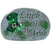 Luck Of The Irish Garden Stone