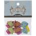 Glitter Cupcake Shank Buttons