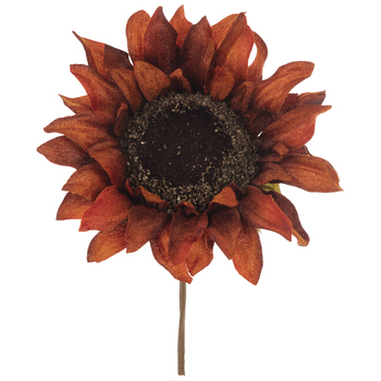 Rust Sunflower Pick