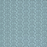 Mint Scroll Cotton Calico Fabric