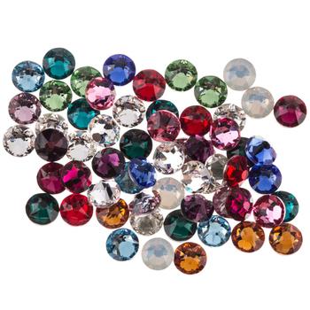 Birthstone Mix Xirius Flatback Crystals - 16ss