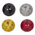 Assorted Round Faceted Buttons - 14mm