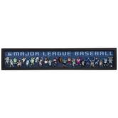 MLB Mascot Lineup Framed Wall Decor