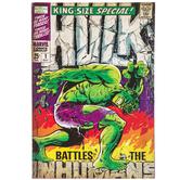 Hulk Comic Wood Wall Decor
