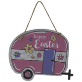 Happy Easter Camper Ornament