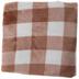 Terracotta Buffalo Check Throw Blanket