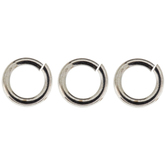 Sterling Silver Plated Jump Rings