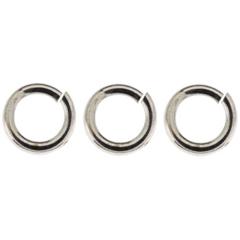 Sterling Silver Plated Jump Rings - 4.75mm