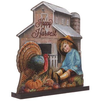 Happy Harvest Vintage Farm Wood Decor