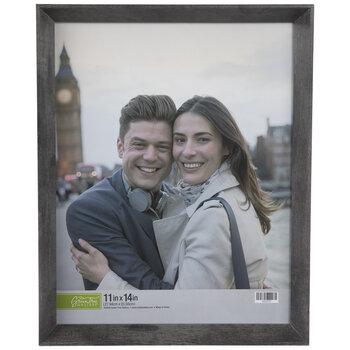 Gray Slanted Wall Frame