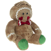 Scented Plush Gingerbread Boy