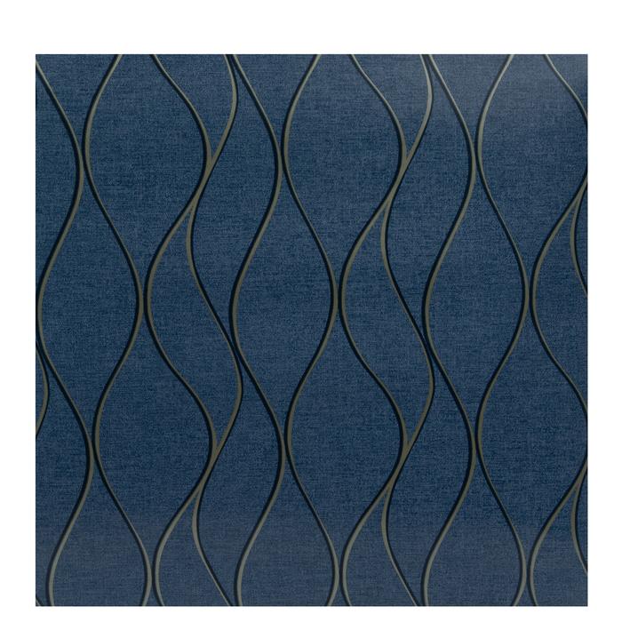 Blue Gold Wave Wallpaper Vinyl Wall Art Hobby Lobby 1879154