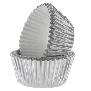 Silver Foil Candy Cups
