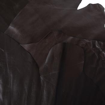 Brown Cowhide Leather