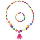 Multi-Color Bracelet & Necklace