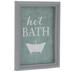 Miniature Hot Bath Framed Art
