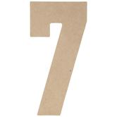 "Wood Number 7 - 5"""