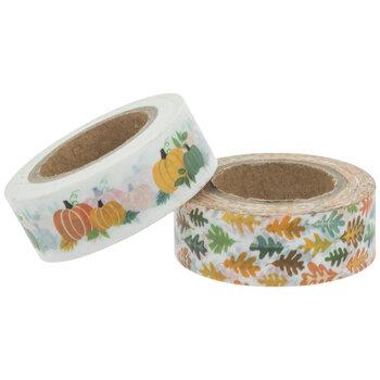 Autumn Leaves & Pumpkins Washi Tape