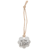 Be The Light Metal Gift Tag